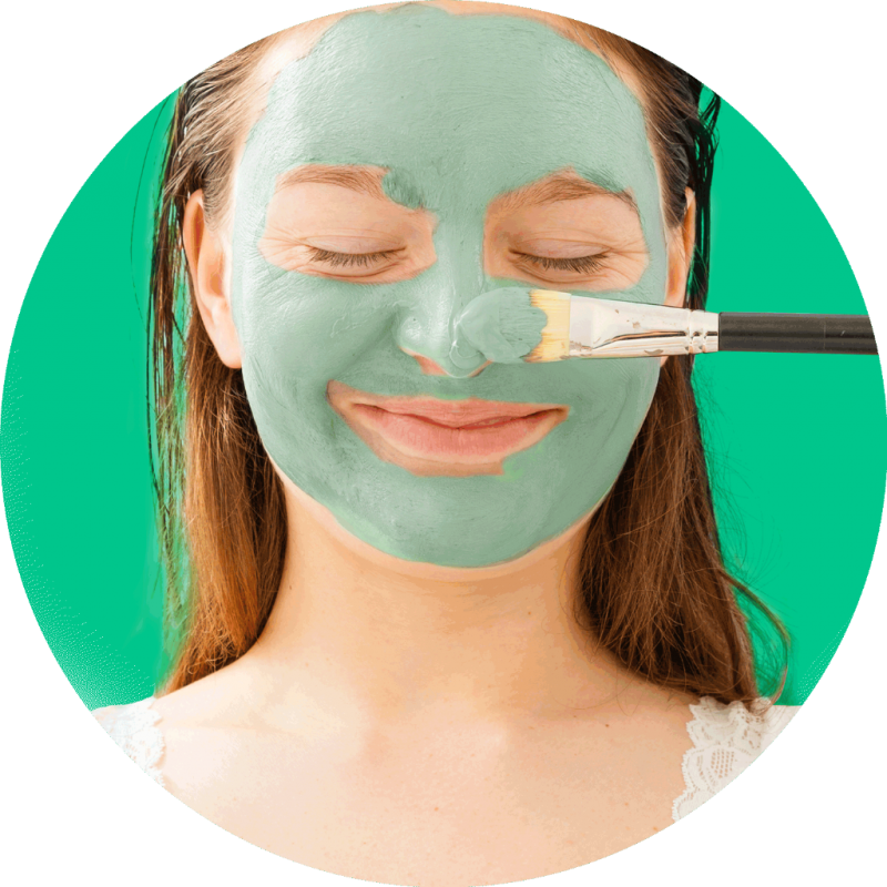 Mud Mask Share in Jar 4pc. Source · Freeman OIL ABSORBING mint + lemon Clay