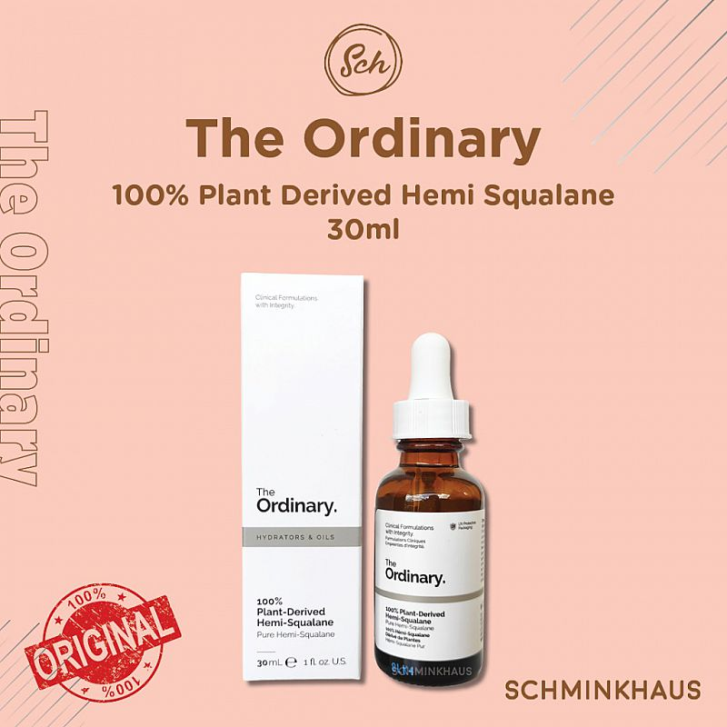 THE ORDINARY 100% Plant Derived HEMI Squalane